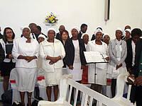 Moravian Church in South Africa in Eldorado Park, Johannesburg; Foto: Radek Nedvěd