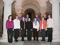Moravian Harmonists in der Krypta 2007