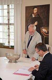 Pfr. i.R. Andreas Taesler zieht für den Jahrgang 2022